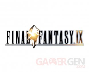 Final Fantasy IX jaquette logo titre