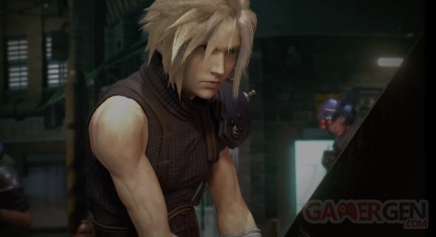 Final Fantasy VII Remake head 2