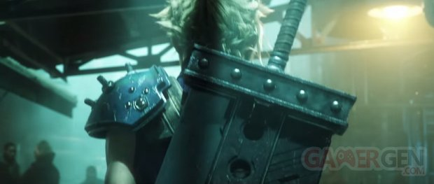 Final Fantasy VII Remake head 3