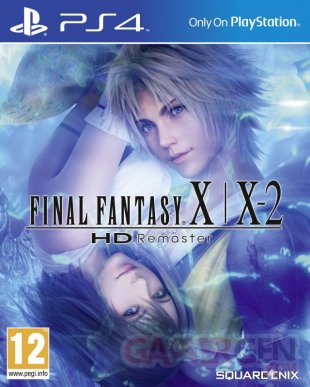 Final Fantasy X X 2 HD Remaster jaquette PS4
