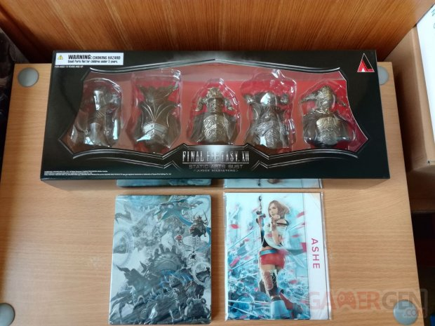 Final Fantasy XII FFXII The Zodiac Age collector unboxing déballage 14 16 07 2017