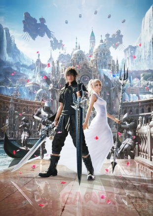 Final Fantasy XV artwork Noctis Luna Altissia 17 11 2016