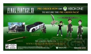 Final Fantasy XV bonus précommande 1