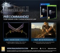 Final Fantasy XV bonus précommande 9