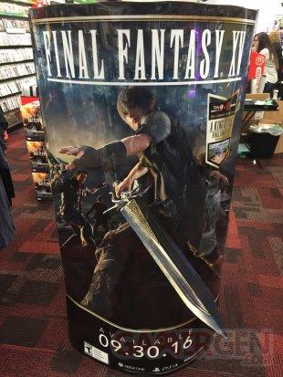 final fantasy xv date sortie novembre 29 stand