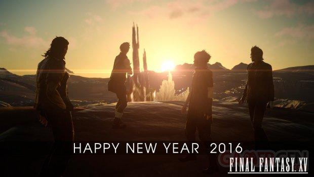 Final Fantasy XV happy new year 2016