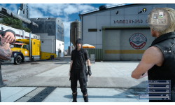 Final Fantasy XV PS4 Pro démo 01 11 11 2016