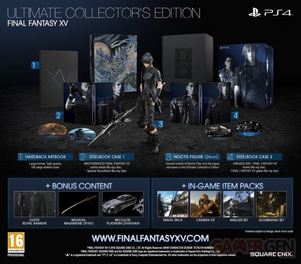Final Fantasy XV Ultimate Collectors Edition image
