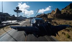Final Fantasy XV voiture Regalia volante head