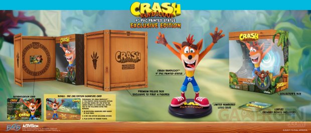 First 4 Figures Crash Bandicoot figurines images (7)