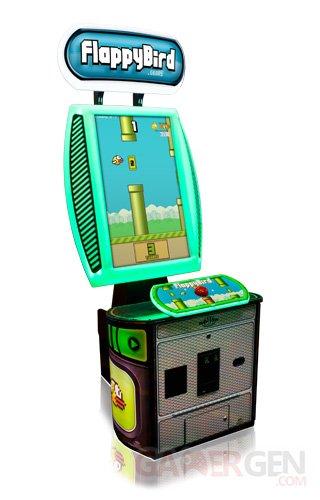 Flappy Bird borne d'arcade