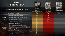 For Honor Season Pass Deluxe Edition (2)