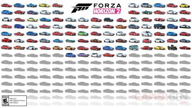 Forza Horizon 2 22 07 2014 car liste (2)