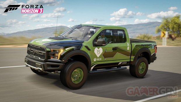 Forza Horizon 3 Xbox 15 ans