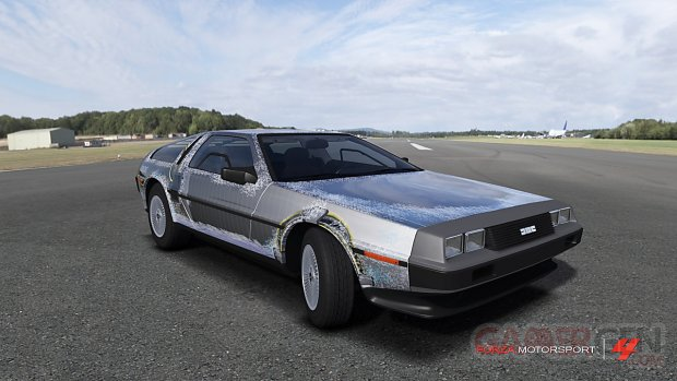 forza motorsport 4 delorean