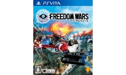 Freedom Wars JP Box Art Cover Jaquette