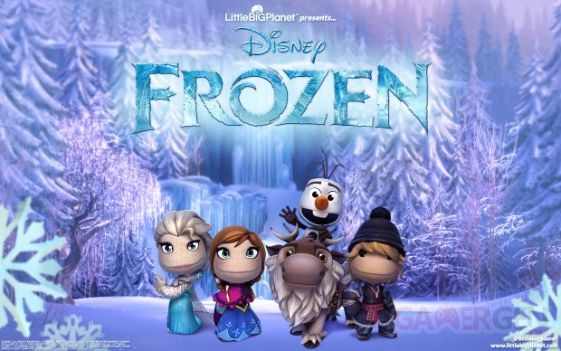 frozen reine neiges littlebigplanet  (1)