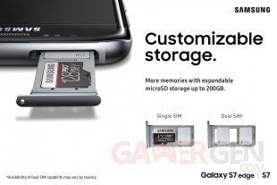 galaxy s7 design SIM microSD