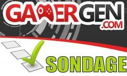 GamerGen Sondage Logo Vignette Banniere