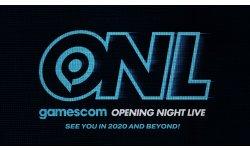 gamescom Opening Night Live : il y aura une édition 2020, et d'autres encore