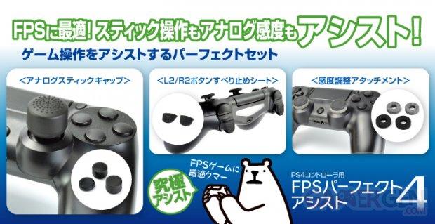 GameTech accessoire dualshock 4 ps4 121212