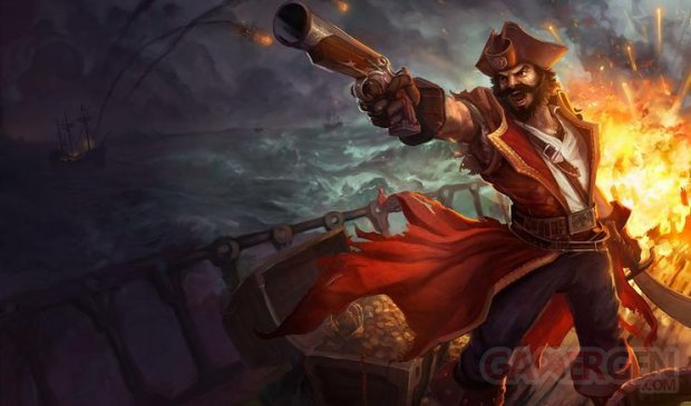 gangplank league of legends lol