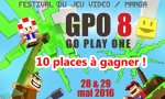 GO Play One 8 - 10 places à gagner pour le salon incontournable de ce week-end (#‎GoPlayOne8)