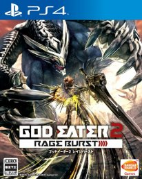 God Eater 2 Rage Burst Jaquette