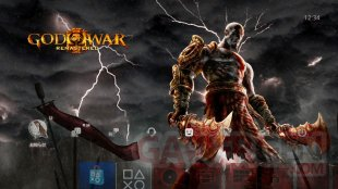 God of War III Remastered theme ps4 (2)