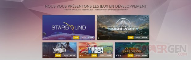 GOG jeu développement