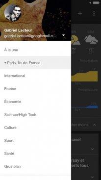 Google Actualités et Météo iOS (1).