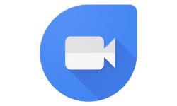 Google Duo logo app