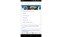 Google Now karaoke chants Noel