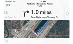 gps aeroport iphone