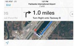 gps aeroport iphone