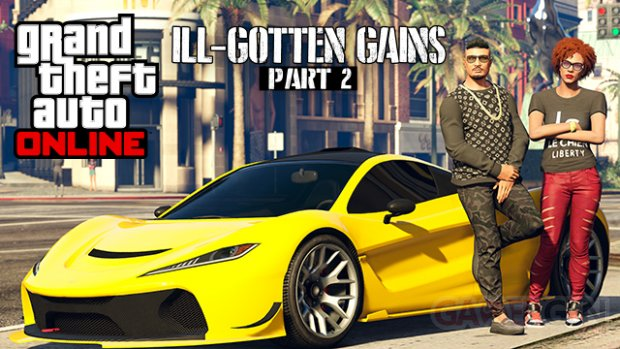 Grand Theft Auto GTA Online Le Crime Paie Partie 2 30 06 2015 art