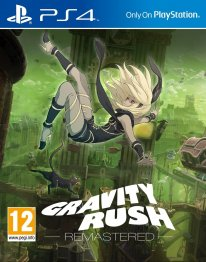 Gravity Rush Remastered jaquette