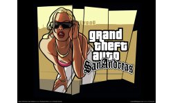 GTA Grand Theft Auto San Andreas artwork.