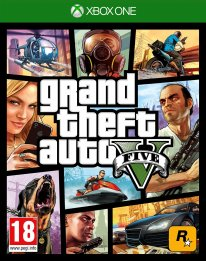 GTA V jaquette Xbox One