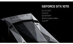 GTX 1070 carac