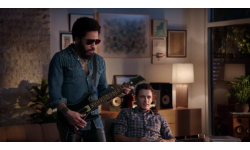 Guitar Hero Live Lenny Kravitz et James Franco