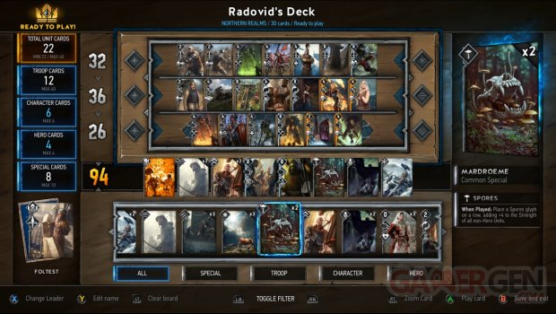 Gwent The Witcher Card Game 15 06 2016 screenshot (1)