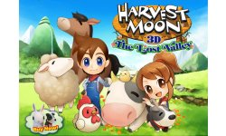 Harvest Moon La Vallée Perdue artwork