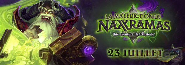 Hearsthone La Male?diction de Naxxramas date de sortie