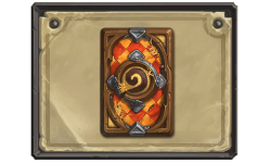 Hearthstone dos de carte Lices du tournoi