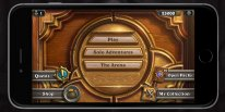 hearthstone interface iphone smartphones