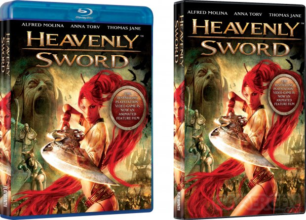 Heavenly Sword film 09 07 2014 jaquette couverture boite