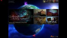 HEX Shards of Fate screenshot menu principal
