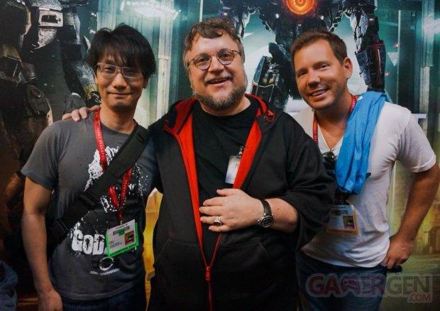 Hideo Kojima Guillermo del Toro Cliff Bleszinski