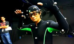 Hideo Kojima motion capture MGS 04
